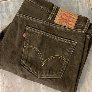 Levi's 501 jeans 44x32 brown